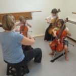 Twinkle Cello Rehearsal