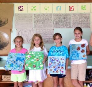 Art Wkshop 2013 Girls Final Projects