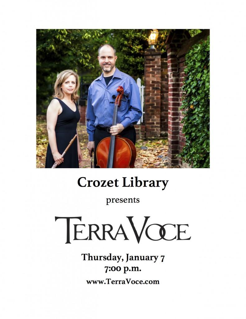 Terra Voce Crozet Library 2016