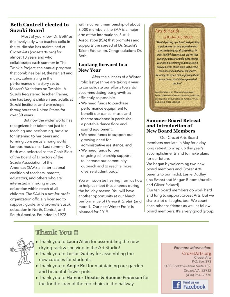 !Newsletter Fall 2017 Page 2